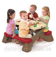Оригинал. Детский Столик для Пикника Step2 8004