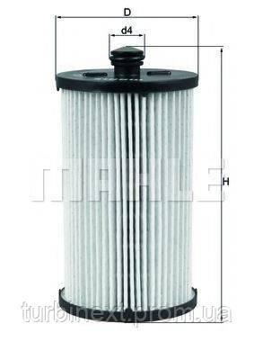 Фільтр паливний VW Crafter 2.5 TDI 06 - KNECHT KX 222D