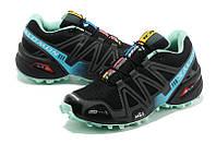 Женские кроссовки Salomon Speedcross 3 W02| саломон спайдкросс 3 W02 черные