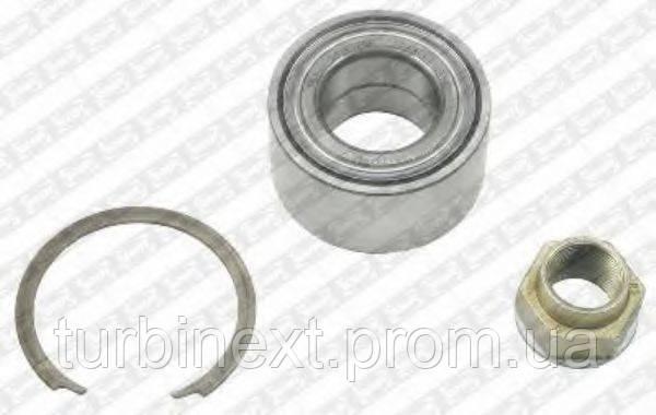 Подшипник ступицы (передней) Fiat Doblo 01- (-ABS) SNR  R158.36