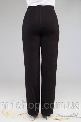 Женские черные брюки для пышных (1916 осень-зима svt), фото 2