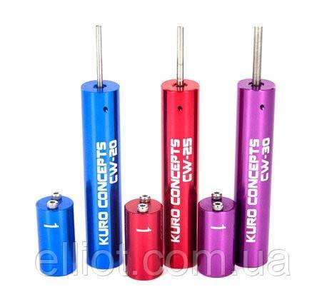 Kuro coil jig - пристрій для намотування спіралей CW-20 (blue) 20 мм