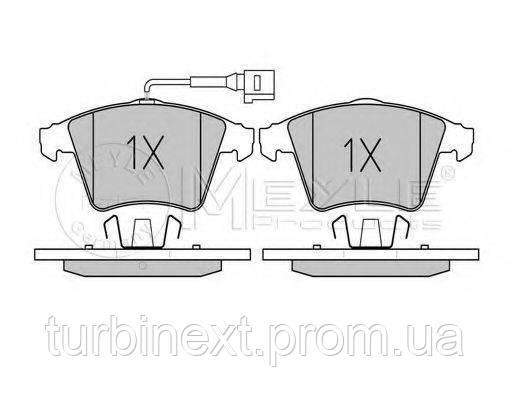Колодки гальмівні (передні) VW T5 03- (20.1 mm/18.7 mm) MEYLE 025 237 4619/W