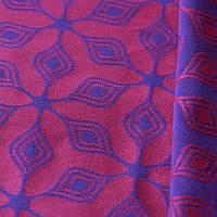 Слинг-шарф YARO SLINGS Atomium Dark Blue-Rose (4,2 м), фото 1