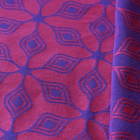 Слинг-шарф YARO SLINGS Atomium Dark Blue-Rose (5,2 м)