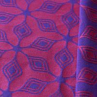 Слинг-шарф YARO SLINGS Atomium Dark Blue-Rose (5,2 м), фото 1