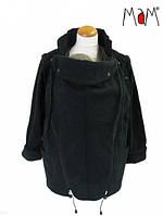 Слингожакет флисовый MAM Jacket Two-Way Deluxe Licorice Black (размер L, чёрный)