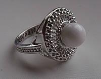 """Кольцо из кахолонга """"Солнце""""  17,8 размера от Студии  www.LadyStyle.Biz"""