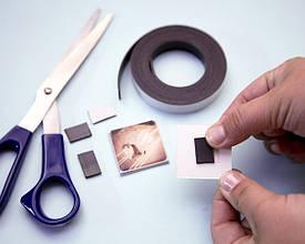 Применение магнитных заготовок, кольцевых магнитов и пакетов зип лок
