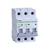 Автоматический выключатель Noark 6кА, х-ка B, 3А, 3P, Ex9BN, 100047
