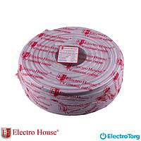 ЕН-12 Коаксиальный кабель для Hi-end систем Медь 1,02 100% экран ПВХ ElectroHouse