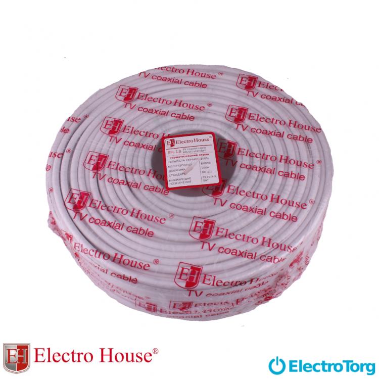 ЕН-13 Коаксиальный кабель для Hi-end систем CSS 1,02 100% экран ПВХ ElectroHouse