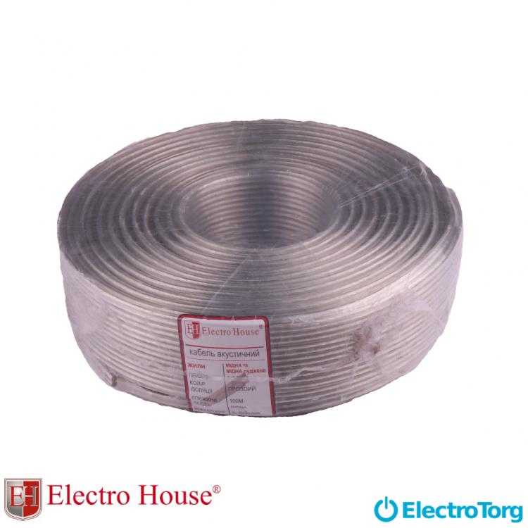 Провод акустический Hi-end 100% медь луженый 2х1,2 ElectroHouse