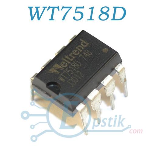 WT7518D, супервізор, DIP8