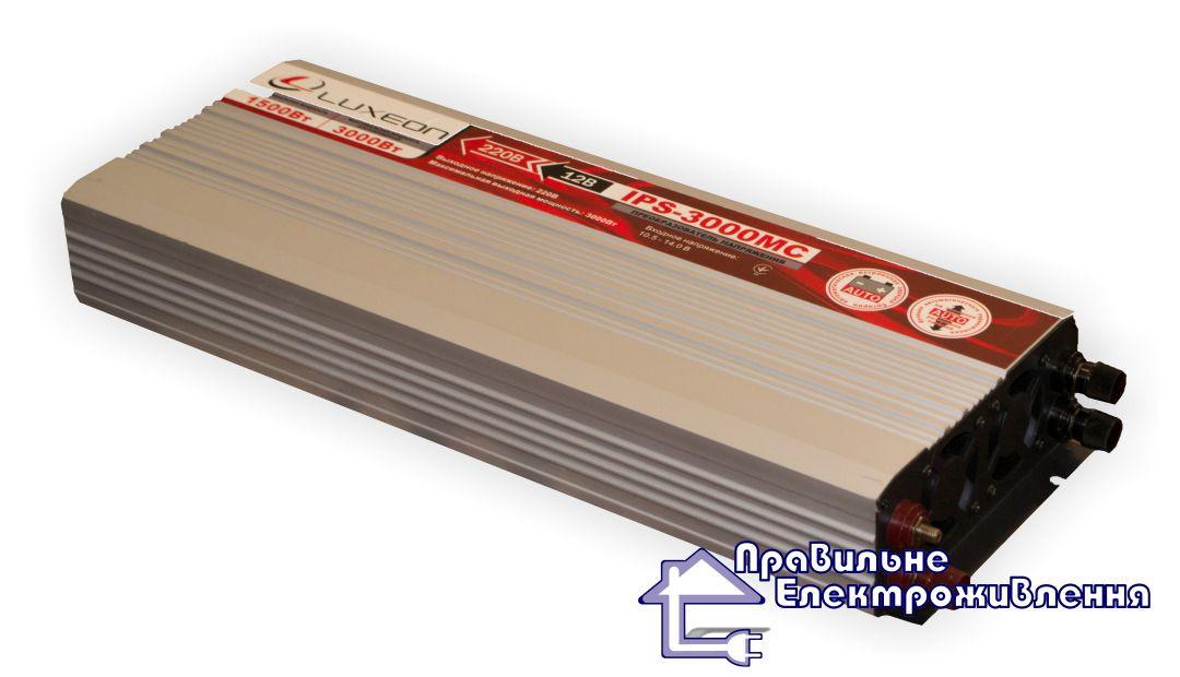 Інвертор 12/220 Luxeon IPS-3000MC апроксимована синусоїда + зарядний пристрій Київ, Житомир