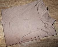 Гольф котон Турция размер 42-48 код 027 капучино