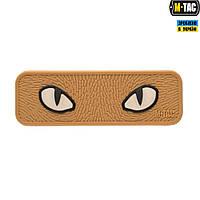 Патч M-Tac Cat Eyes 3D ПВХ Coyote, фото 1