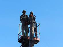 Спилить дерево Киев.корчевание пней