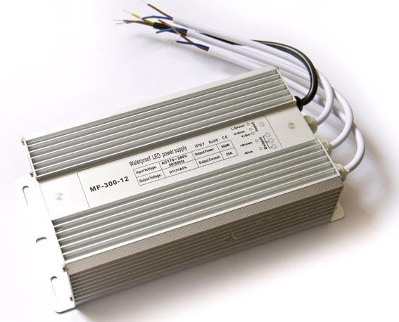 Блок питания 12V 300W (20.83A) IP67 MET