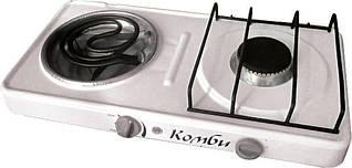 2-комфорочная электро-газовая плита Time Eco «Комби»