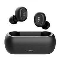 Беспроводные Bluetooth наушники QCY QS1 (T1C) (Черный)