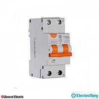 Дифференциальный автоматический выключатель DDM60C25/030 2P AC, 6kA General Electric