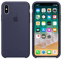 Панель Future Silicone Case для iPhone X Midnight Blue (725677)