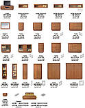 Кровать LOZ160 (каркас) Ларго Классик, БРВ, фото 5