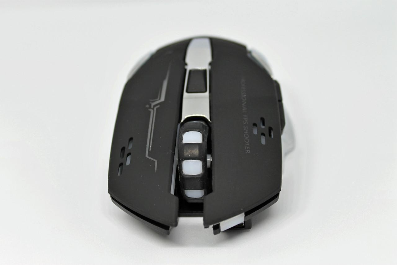 Игровая Беспроводная мышь Acetech с подсветкой и зарядкой