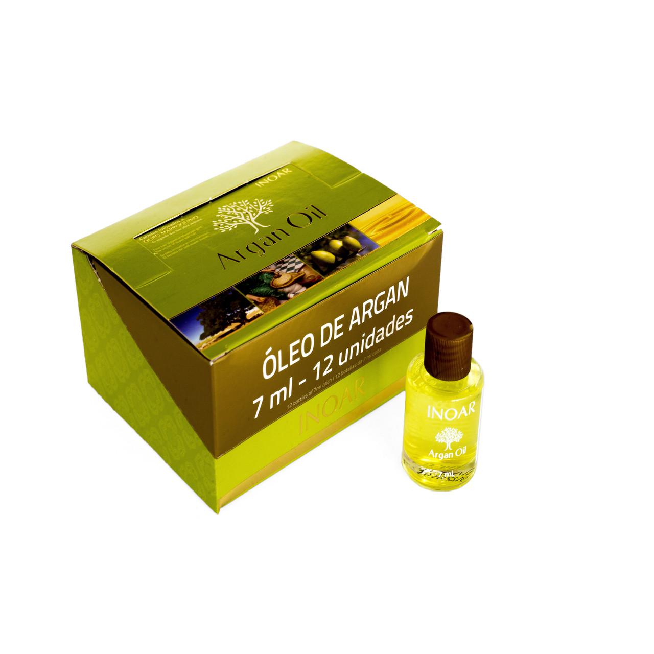 Аргановое масло Иноар, 12 шт по 7 мл