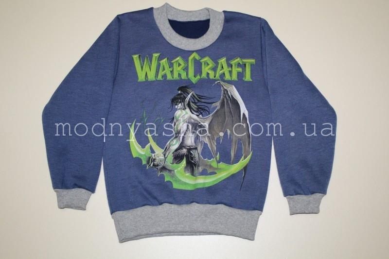 """Світшот для хлопчика """"WarCraft"""" 2, 7 років"""