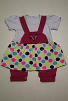 Пісочник-сарафан для дівчинки 9 місяців