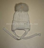 """Шапка """"Сніжинка"""" 1,5-3 р (зима)"""