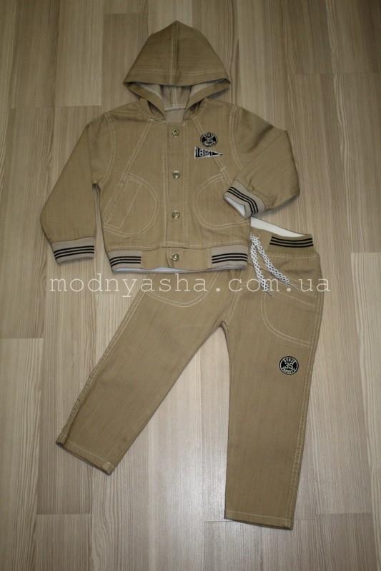 Костюм джинсовий для хлопчика 1-3 років