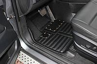 Коврики PorscheCayenne 3D Кожаные  (2010-2017) Прессованные, фото 1