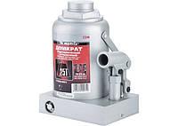 Домкрат гидравлический бутылочный, 25 т, h подъема 240-375 мм // MTX MASTER