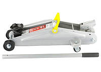 Домкрат гидравлический подкатной, 2 т, h подъема 135-355 мм // MTX MASTER