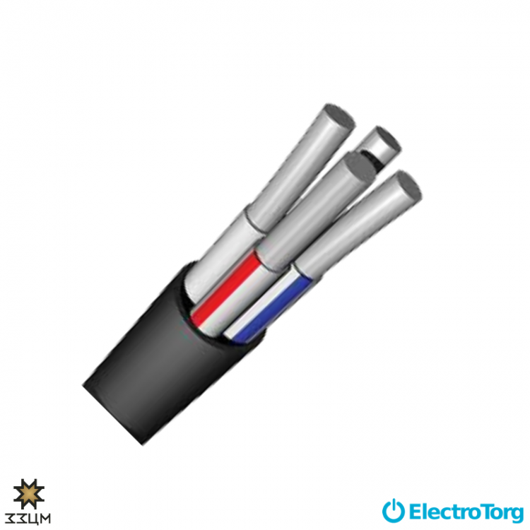 Кабель АВВГнг 4х16 ЗЗЦМ Electro Cable Group (ECG)
