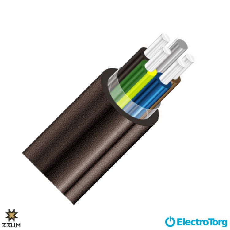 Кабель АВВГнг 5х35 ЗЗЦМ Electro Cable Group (ECG)