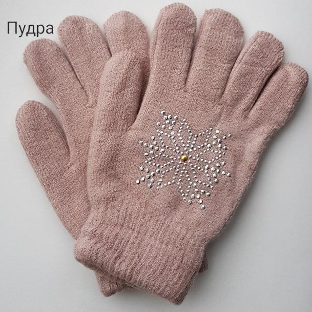 """Рукавички """"Сніжинка"""" 7-12 років (зима)"""