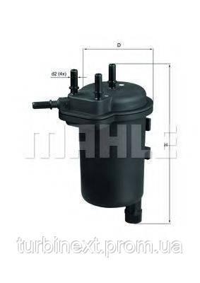 Фильтр топливный Renaullt Kangoo 1.5dCi KNECHT KL 430