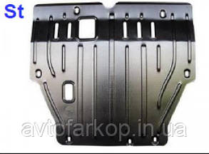 Захист двигуна,КПП Acura МDX (2014-)(Захист двигуна Акура МДХ) Полігон-Авто