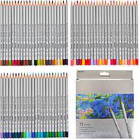 Набор цветных карандашей 72 цвета. Марко