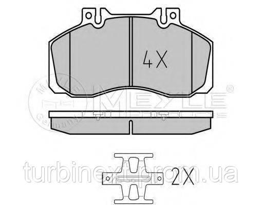 Колодки гальмівні MEYLE 025 298 3521 (передні) MB 609-814/Vario