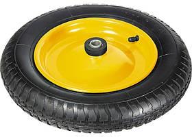Колесо пневматическое, 3.00-8, D360 мм, подшипник внутренний диаметр 16мм, длина оси 92мм // PALISAD 689408