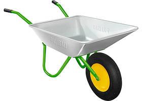 Тачка садовая, грузоподъемность 100 кг, объем 65 л // PALISAD 689128