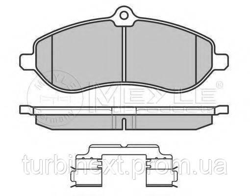 Колодки гальмівні MEYLE 025 245 9518/W (передні) Fiat Scudo 07-