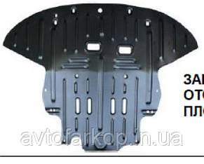 Захист двигуна,КПП Dodge RAM VAN (2000-)(Захист двигуна Додж Рам Ван)Полігон-Авто