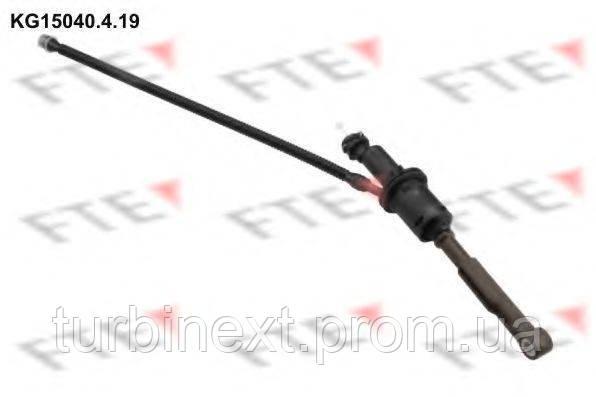 Циліндр зчеплення FTE KG15040.4.19 (головний) Citroen C4 Picasso/Berlingo 1.6 HDi 08- (d=15,87 mm)