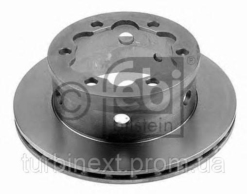 Диск гальмівний FEBI BILSTEIN 10639 (задній) MB Sprinter 408-416/VW LT 46 96- (285x22)